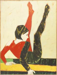Próba XIII - Anna Drejas (2002), obraz olejny na płótnie