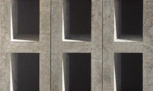 Z cyklu Na krawędzi światła 0415 - Ewa Zawadzka (2019), obraz na płótnie wykonany techniką własną