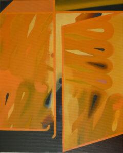 Szafa - Andrzej Zdanowicz (2020), obraz olejny na płótnie
