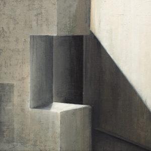 Z cyklu Na krawędzi światła 0315 - Ewa Zawadzka (2020), obraz na płótnie wykonany techniką własną