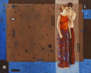 Zaczarowani - Wioletta Gaszka (2010), obraz olejny na płótnie