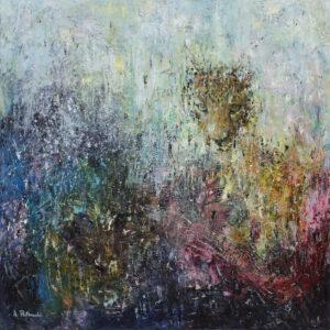 W1 z cyklu wildlife - Adam Piotr Rutkowski (2020), obraz olejno-akrylowy na płótnie