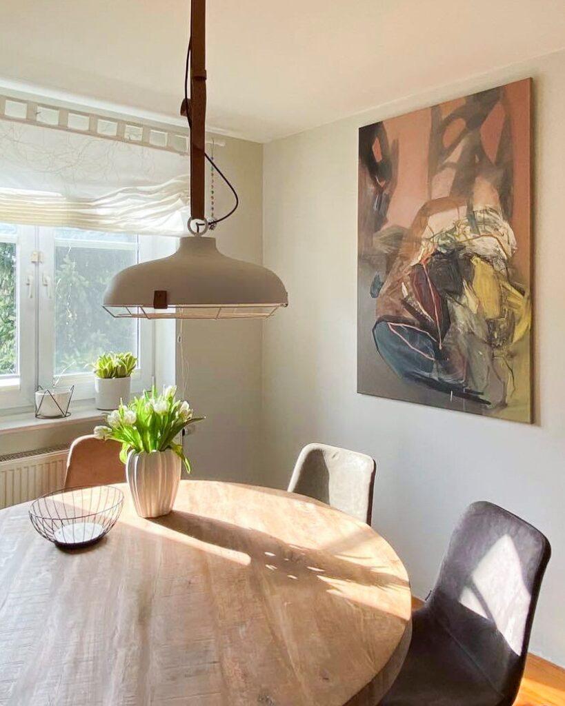 Agata czeremuszkin Chrut obraz jadalnia salon wnętrze dom
