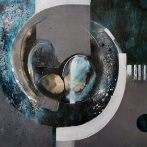 W kolebce uczuć II - Nina Zielińska-Krudysz (2020), obraz akrylowy na płótnie