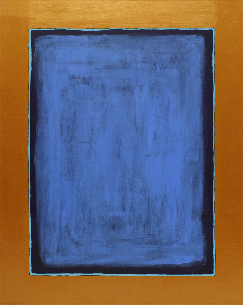 Mar - Paulina Niemczyk (2020), obraz akrylowy na płótnie
