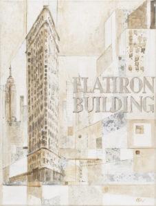 Flatiron Building - Czesław Piotr Szczepański (2016), obraz akrylowy na płótnie