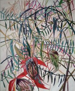 Bez tytułu - Katarzyna Śmigielska (2020), obraz olejny na płótnie