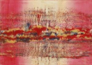 Fantasy Structure - Marta Dunal (2020), obraz akrylowy na płótnie