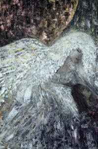 Pocieszenie - Izabela Drzewiecka (2020), obraz akrylowy na płótnie