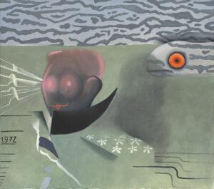 MORA UB - Kacper Woźny (2019), obraz olejny na płótnie