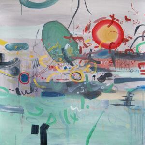 Masz tyle do powiedzenia - Daria Pyrchała (2020), obraz olejny na płótnie
