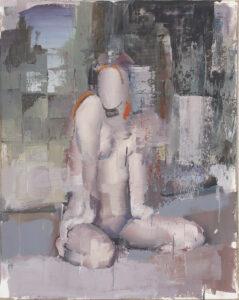 Bez tytułu (283) - Marcin Ziółkowski (2019), obraz olejny na płótnie