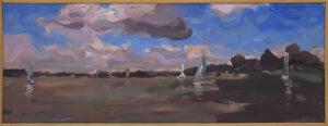 Wiatru szum - Maciej Kempiński (2020), akryl, płotno