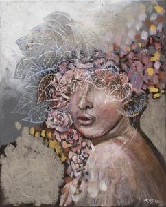 JESIENNY ZAPACH MIMOZY (2020) ŻANETA CHŁOSTOWSKA-SZWACZKA - kobiecy portret jesień