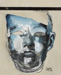 Maska czy twarz S531 (2021) - Aleksandra Modzelewska - portret dziecka