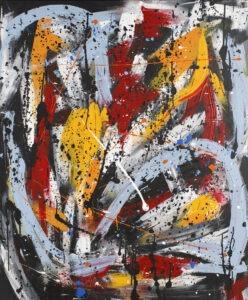 1Q90 (2020) - Paulina Ledzion - kolorowa abstrakcja