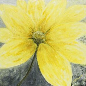 Żółty (2019) - Paulina Leszczyńska - żółty kwiat