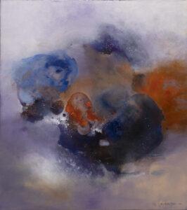 Siódme niebo (2020) - Nina Sielińska-Krudysz - abstrakcja
