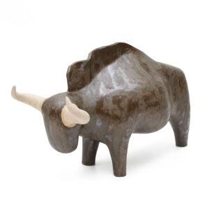Aneta Śliwa - Antylopa gnu - ceramiczna rzeźba w brązie