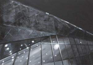 bez tytułu - Irena Skalik - architektura, czarno szara