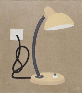 lampka z kablem - Bettina Bereś