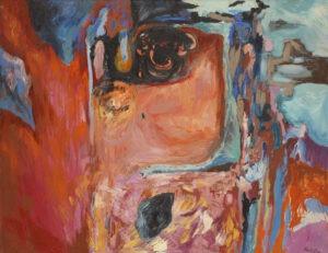 wnętrze z telefonem - Kamila guzal-pośrednik - abstrakcja