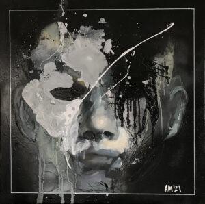 maska czy twarz s5 49 - Aleksandra Modzelewska - portret