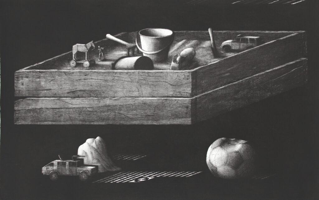 Kamil Kocurek - grafika na papierze