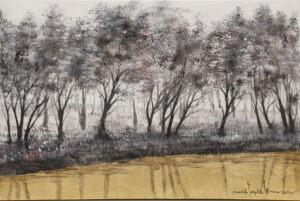 enchanted forest - Mariola świgiulska - pejzaż leśny
