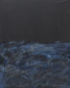 ocean nocą - Patryk lutomski - abstrakcja, czerń, granatowy