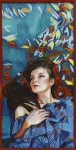 listopad - Małgorzata limon - portret kobiety