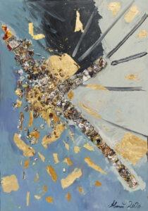 andromeda - Agnieszka boroń - abstrakcja, zawiera elementy wypukłe