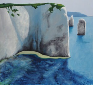 alabastrowe wybrzeże - weronika lipka - pejzaż morski, wybrzeże, klif