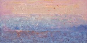 pink sky - Magdalena mędzkiewicz - abstrakcja
