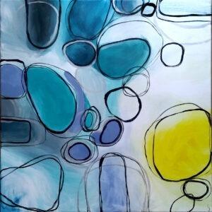 meandry iii - Sylwia Jóźwiak - abstrakcja, geometryczna, obłe kształty