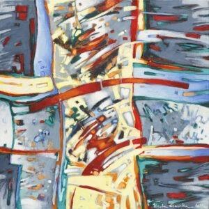 z palety 13 - Wioletta gaszka - abstrakcja, żywe kolory