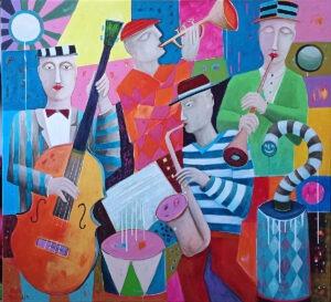 morning jazz - Mirosław Nowiński - realizm magiczny, kapela jazzowa