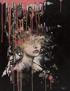 chaos natury - Żaneta chłostowska-szwaczka - tajemniczy portret kobiety
