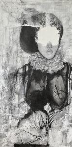 enlinghtenment - viola ryba Hadaś - portet kobiety czarno biały
