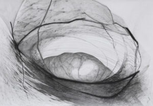 Agata Czeremuszkin-Chrut - abstrakcyjna praca na papierze