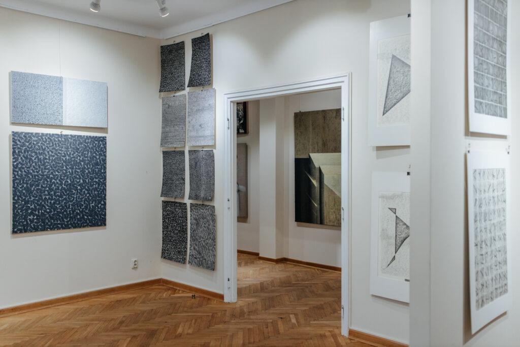 Wystawa Michała Paryżskiego w Galerii Xanadu - wnętrze