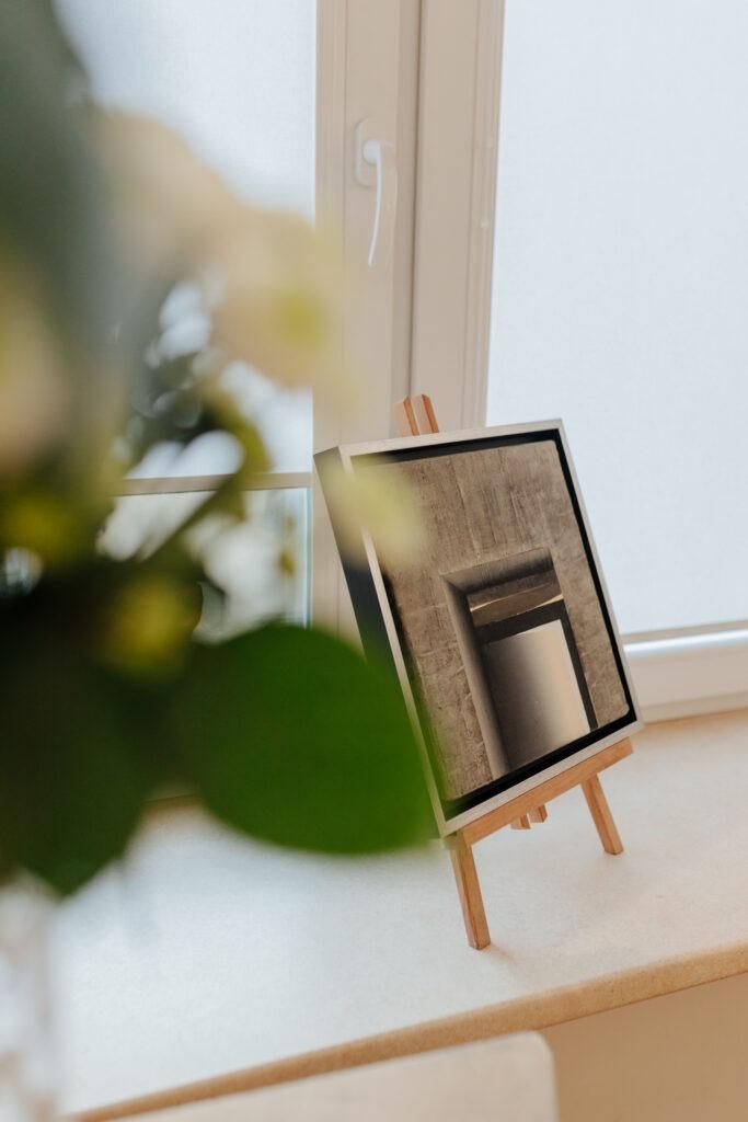 wystawa Ewy Zawadzkiej w Xanadu - wnętrze galerii