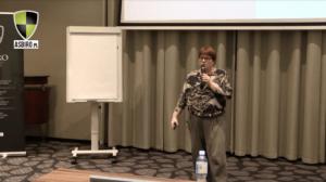 Wykład Agnieszki Gniotek na Uczelni Asbiro