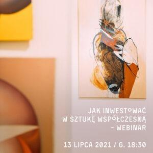 Obraz abstrakcyjny Agaty Czeremuszkin-Chrut w ciepłej kolorystyce