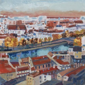 Gabriela Paluch - Paryż, 2021 - widok miasta