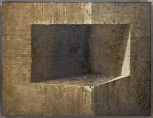 """EWA ZAWADZKA z cyklu - MATERIA CISZY 32"""" - 100x130 2011"""