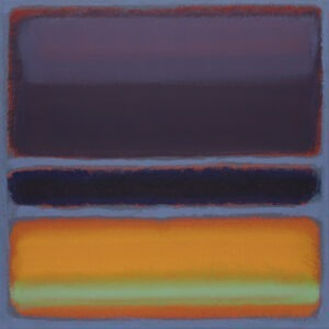 Azurro - Jonasz Koperkiewicz - abstrakcja