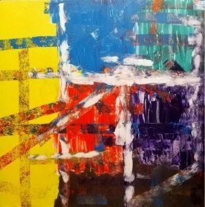 Joanna Kulska - Mania, 2021 - kolorowa abstrakcja